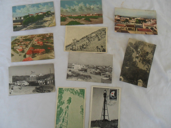 10 Postal Foto Antigua San Clemente Del Tuyu Arquitectura