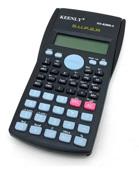 15 Calculadora Cientifica 240 Funções + Capa 82ms