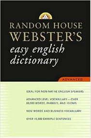Random House Websters - Easy English Dic Random House