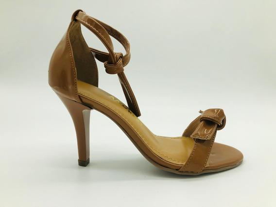 Sandália Sapatos Feminino Salto Alto Fino Conforto Macio