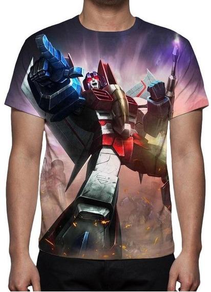 Camisa Camiseta Anime Transformers Starscream - Promoção