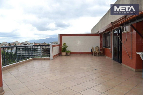 Cobertura À Venda, 233 M² Por R$ 920.000,00 - Vila Valqueire - Rio De Janeiro/rj - Co0003