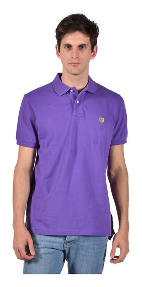 Polo Stretch Fit Chaps Morado 750684781-2y6c Hombre