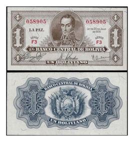 Bolívia 1 Boliviano 1928 P. 128a Fe Cédula - Tchequito
