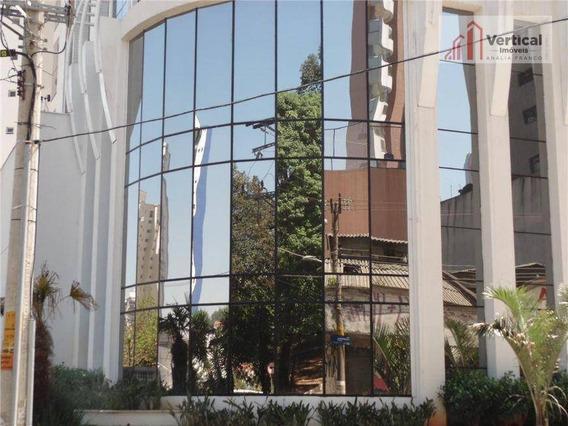Sala Comercial Para Venda E Locação, Jardim Anália Franco, São Paulo - Sa0293. - Sa0293