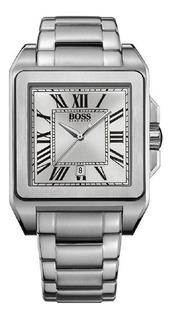 Reloj Hombre Cuadrado Numeros Romanos Hugo Boss Mod 1512799
