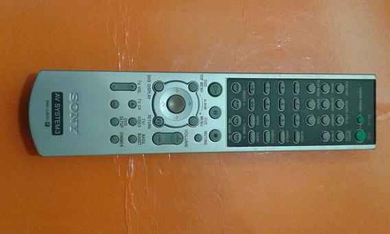 Controle Para Receiver Sony Rm-u800 ( Sem Tampa Das Pilhas )