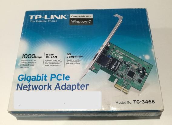 Placa De Red Tp Link Tg-3468 Gigalan Pciexpress