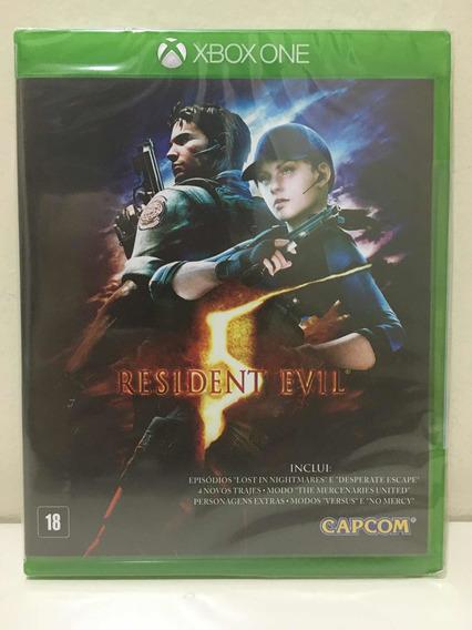 Resident Evil 5 Capcom Microsoft Xbox One Novo Lacrado