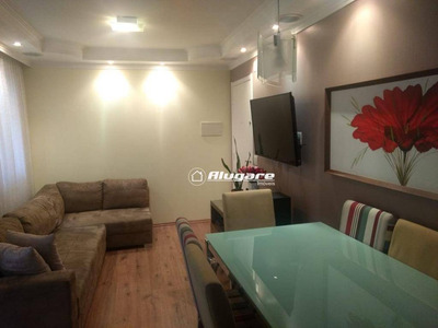 Apartamento Com 3 Dormitórios À Venda, 66 M² Por R$ 330.000 - Vila Augusta - Guarulhos/sp - Ap2725