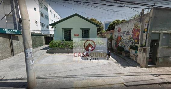 Terreno À Venda, 675 M² Por R$ 1.600.000 - Santa Efigênia - Belo Horizonte/mg - Te0031