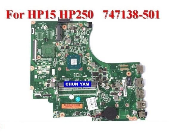 Placa Mãe Hp Série 15 15-d 250 G2 Intel Sr1lv 010194q00-491