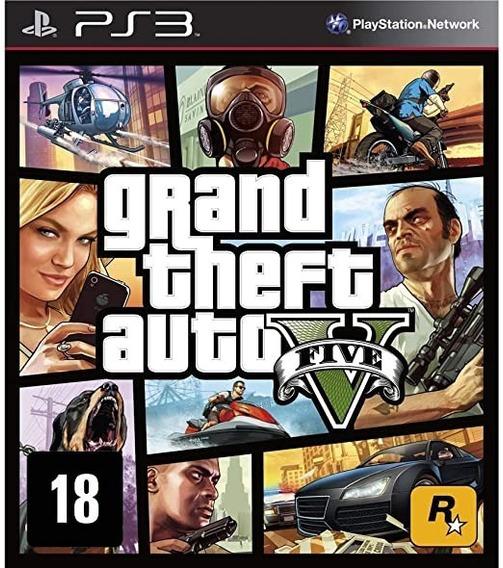 Jogo Grand Theft Auto V Gta 5 - Ps3 | Mídia Física. Usado