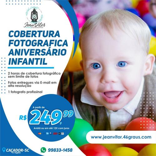 Imagem 1 de 10 de Fotos De Aniversário Infantil, Cobertura Fotográfica.