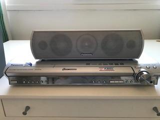 Dvd Home Theater Sound System Panasonic Sa-ht730