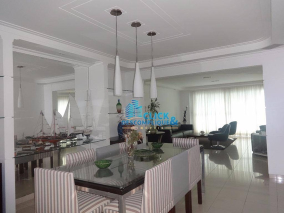 Maravilhoso Apartamento No Condomínio Jardins Da Grécia Em Santos - Sp - Ap0719
