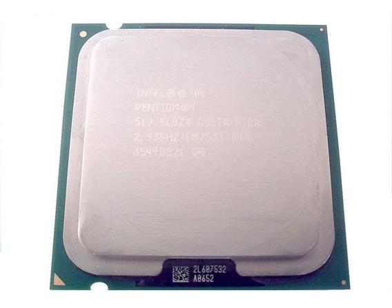 Processador Intel Pentium 4 2,93ghz Socket 775 Frete Gratis