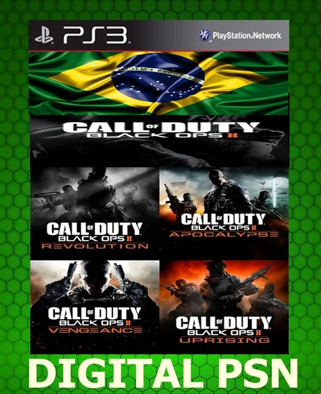 Ps3 Todas Os Mapas De Call Of Duty Black Ops 2 Pt-br Psn Ps3