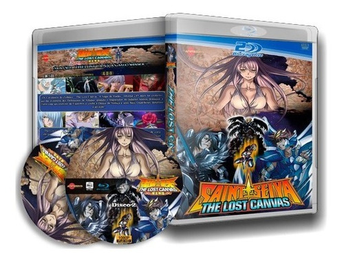 Cavaleiros Do Zodiaco - Lost Canvas Completo Blu-ray Dublado