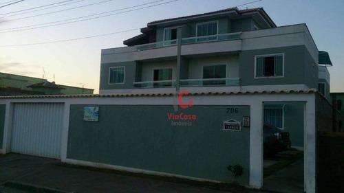 Imagem 1 de 18 de Apartamento Com 2 Dormitórios À Venda, 75 M² - Atlântica - Rio Das Ostras/rj - Ap1287