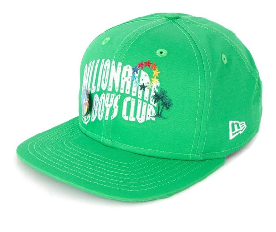 Gorra Billionaire Boys Club New Era Bb Arch Green Original
