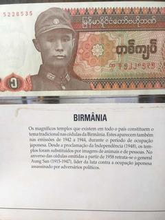 Moedas De Todo O Mundo - Birmânia