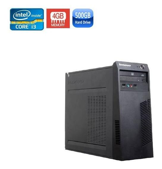 Pc Lenovo Edge 62 Core I3 4gb Hd 500gb + Wi-fi
