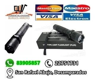 Chuzo Electrico, Foco Lampara, Puntero Laser