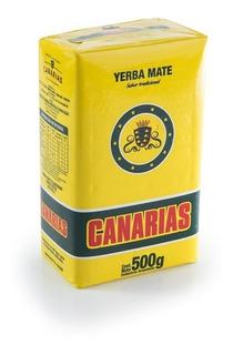 Yerba Mate Canárias (fardo C/ 10 Un. De 500g)