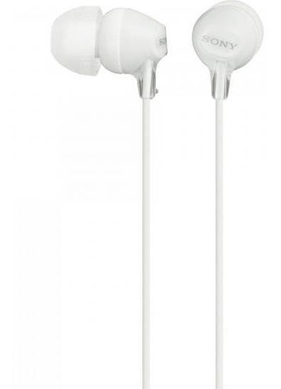 Fone De Ouvido Intra-auricular Mdr-ex15lp Branco Sony
