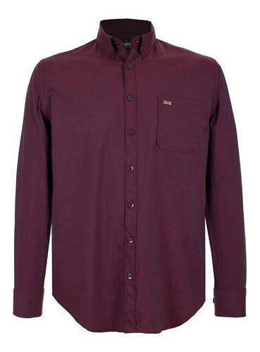 Camisa Casual Lee Hombre Manga Larga H60