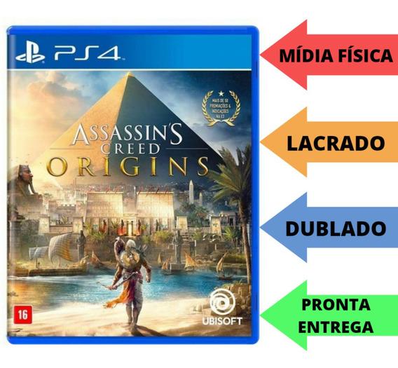 Assassins Creed Origins Ps4 Mídia Física Lacrado (português)