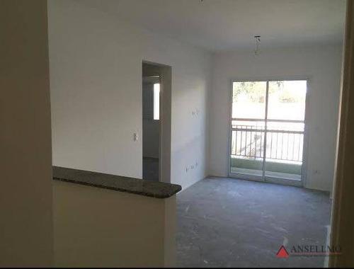 Apartamento Com 2 Dormitórios À Venda, 57 M² Por R$ 268.000,00 - Vila Dusi - São Bernardo Do Campo/sp - Ap1469