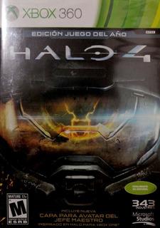 Halo 4 Edicion Juego Del Año Xbox 360