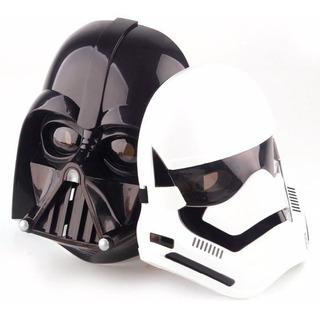 Kit 2 Mascara Star Wars Soldado Stormtrooper E Drath Vader