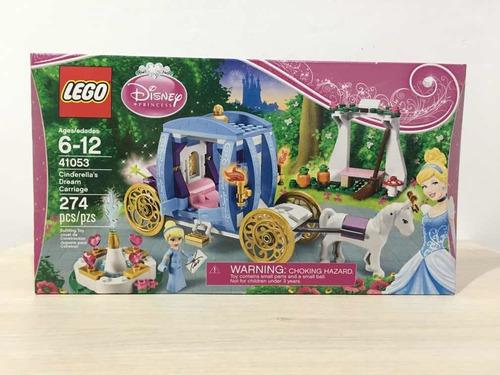 Lego Disney Princesa La Carroza De Cenicienta 274 Piezas