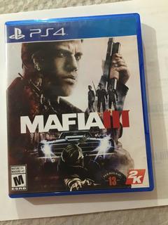 Juego Mafia 3 Usado