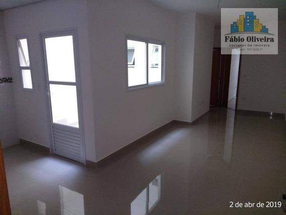 Cobertura Com 2 Dormitórios À Venda, 54 M² Por R$ 340.000 - Vila Vitória - Santo André/sp - Co0103