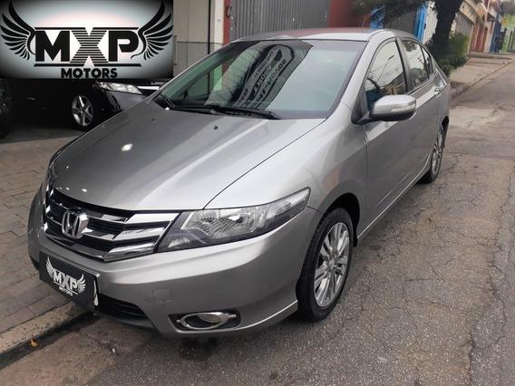 Honda City Ex 1.6 Aut Baixa Km Impecável Bancos Em Couro