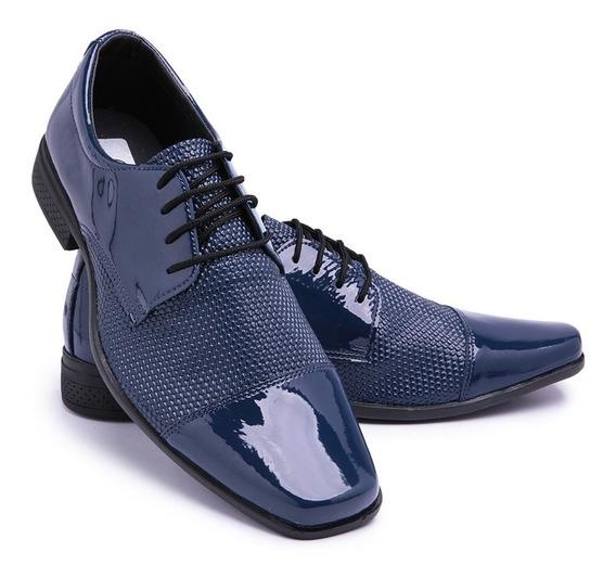 Promoção Kit 4 Pares Sapato Sociais Masculino Uniforme K70