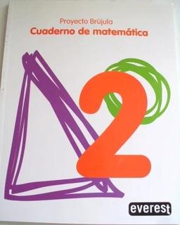Cuaderno De Matemáticas 2 Proyecto Brujula. Solo Envios