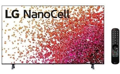 Imagem 1 de 5 de Smart Tv LG 50 Nanocell 4k Uhd 50nano75 Thinq Ai Alexa