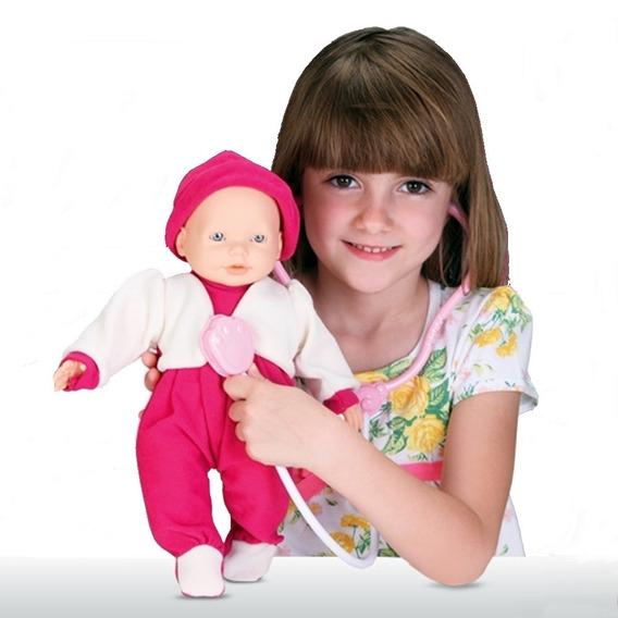 Boneca Dra Bell Baby Menina C/ Acessórios - Omg Kids