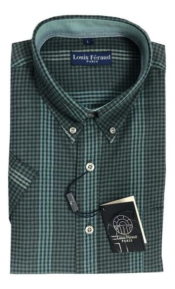 Camisas De Cuadros Louis Feraud Manga Corta 102305