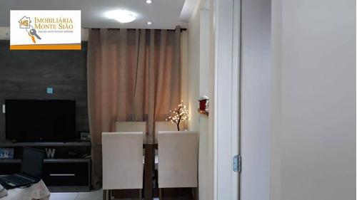 Imagem 1 de 15 de Apartamento Com 2 Dormitórios À Venda, 42 M² Por R$ 210.000,00 - Jardim Ansalca - Guarulhos/sp - Ap1144