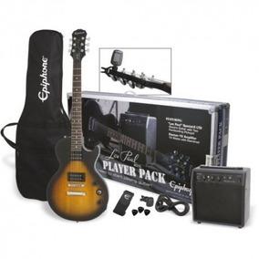 Kit Combo Guitarra Electrica EpiPhone + Amplificador Nuevos