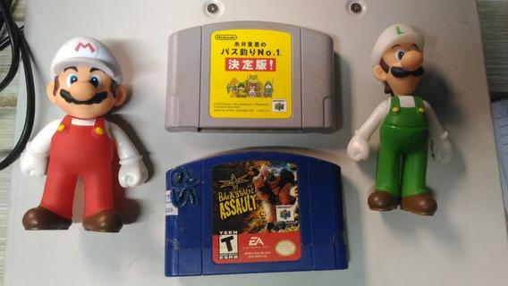 Backstage Assault + Pescaria Nintendo 64