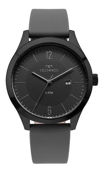 Relógio Technos Masculino Classic 2115mou/2p Preto Analogico