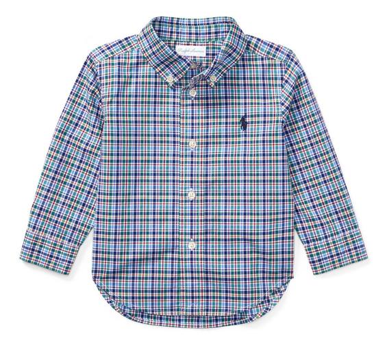 Camisa Social Ralph Lauren Infantil Bebe Menino Importada
