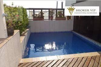 Cobertura Duplex Com 3 Dormitórios, 223 M² - Venda Por R$ 1.390.000 Ou Aluguel Por R$ 5.000/mês - Vila Suzana - São Paulo/sp - Co0123